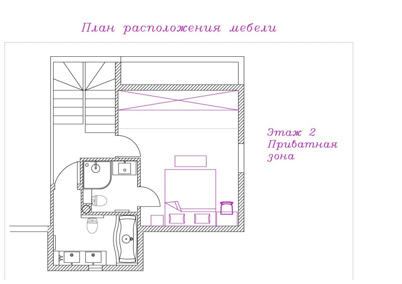 2 План расстановки 2 этаж вар 7