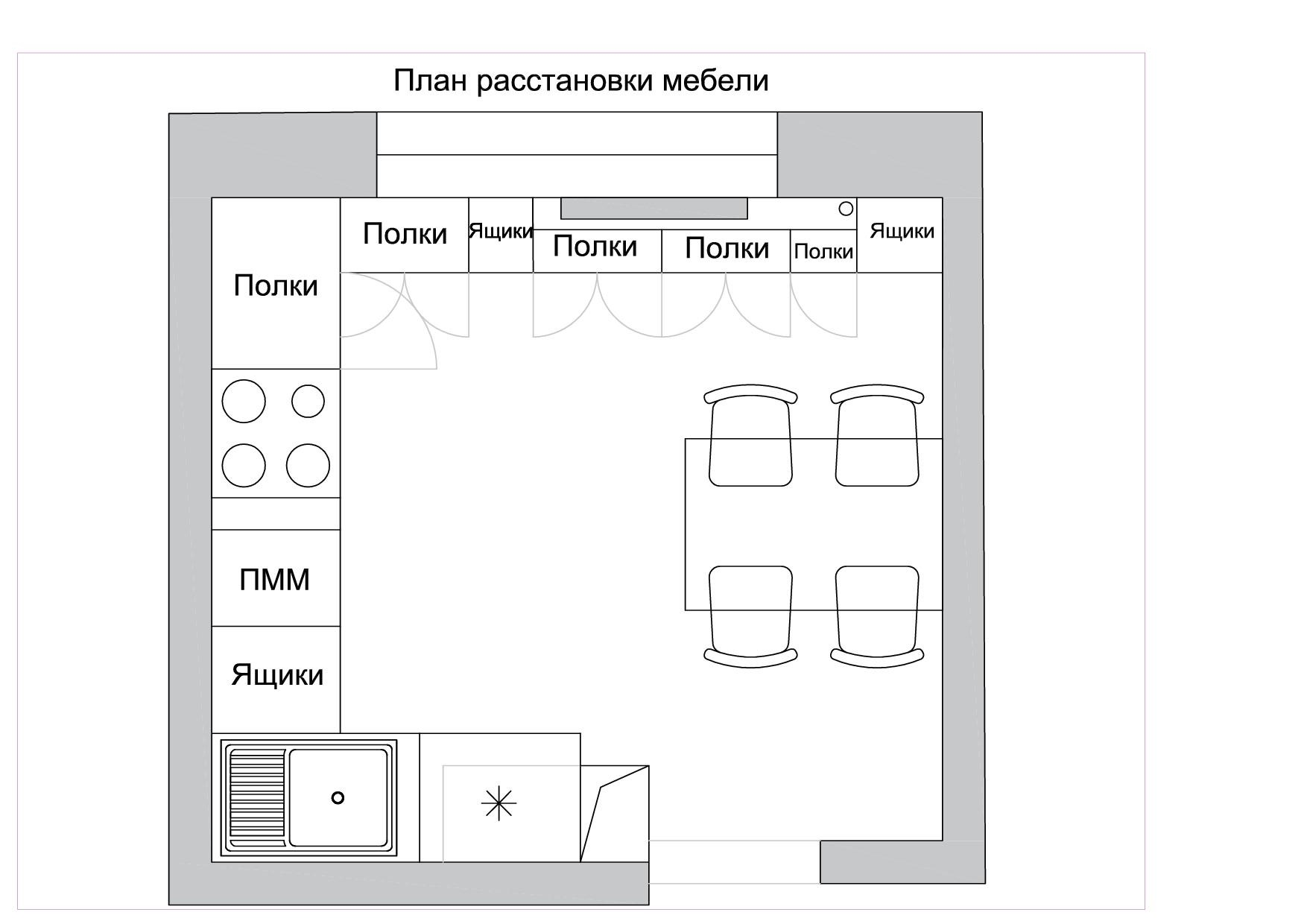План расстановки мебели 2