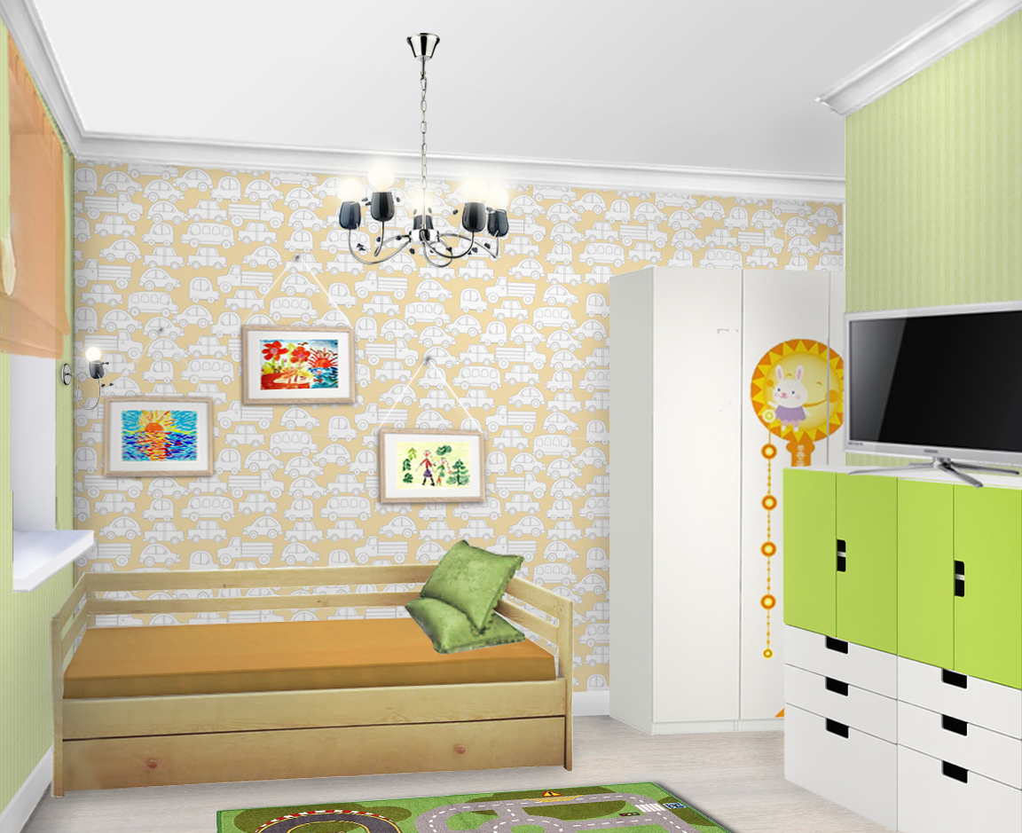 Комната Артема 2