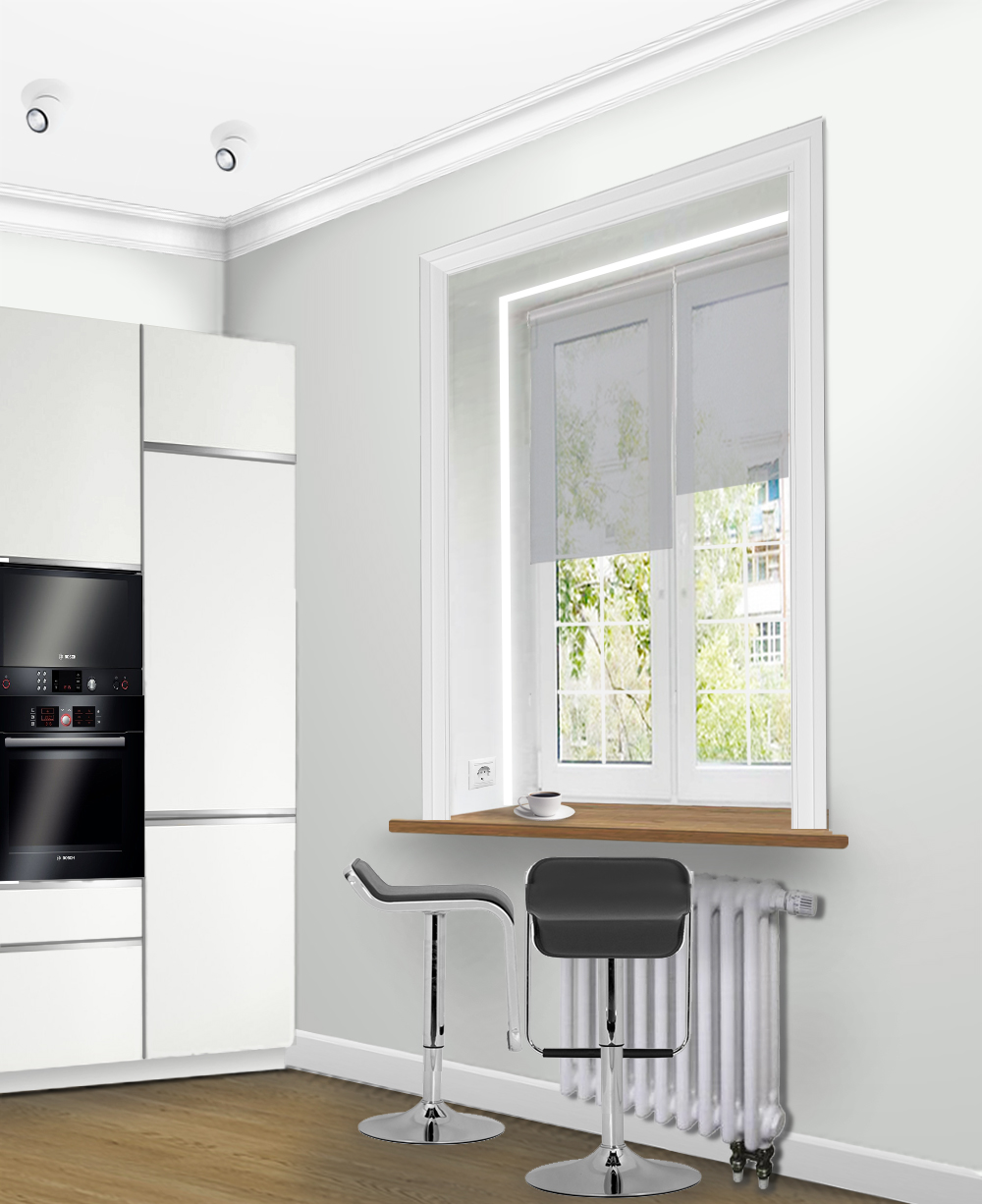 Кухня 2 в
